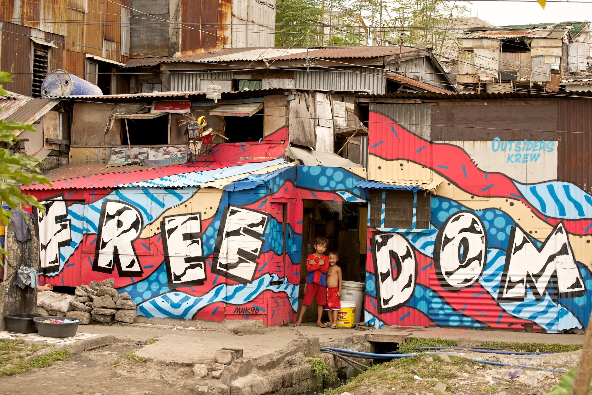 Street art à Manille, Philippines